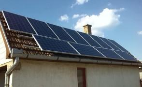 3 kW napelemes rendszer Nyírtét