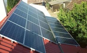 6,5 kW napelemes rendszer Nyírtét