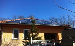 10,5 kW napelemes rendszer Nagycserkesz