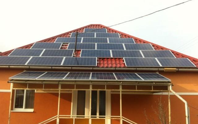 12 kW napelemes rendszer Nyírtét
