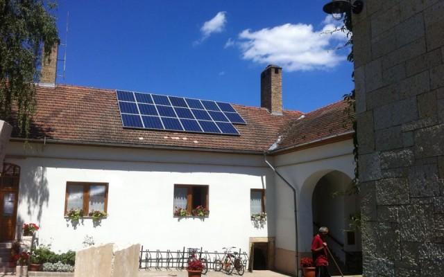 5 kW napelemes rendszer Bodrogkeresztúr Községháza