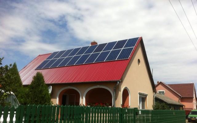 5 kW napelemes rendszer Nagycserkesz