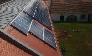18 kW napelemes rendszer Bodrogkeresztúr Községháza