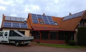 6,5 kW napelemes rendszer Nyíregyháza