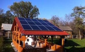 3,75 kW napelemes rendszer Vidám Delfin Kemping Tiszabecs