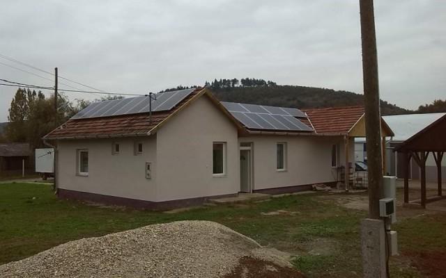 5 kW napelemes rendszer Szendrőlád