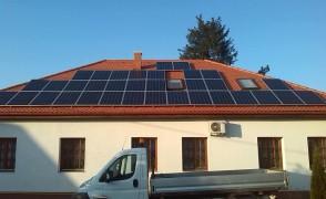 8,5 kW napelemes rendszer Református Egyház Levelek