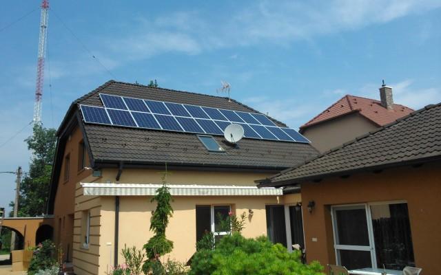 5,0 kW hálózatra tápláló napelemes rendszer