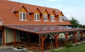 12 kW napelemes rendszer Hercegkút Ifjúsági Tábor