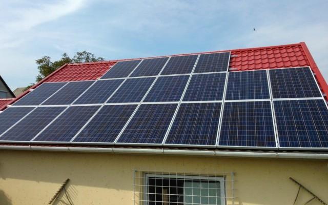 5 kW napelemes rendszer Arnót