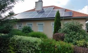 5 kW napelemes rendszer Tata