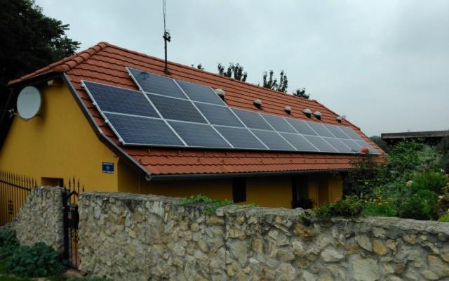 5 kW napelemes rendszer Etyek