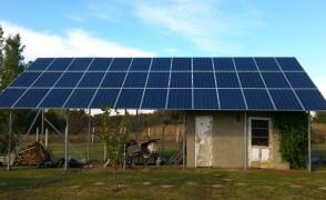 9,75 kW napelemes rendszer Apagy