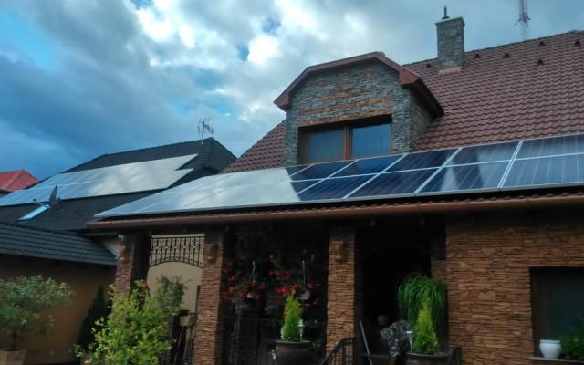 2×5 kW napelemes rendszer Nyíregyháza