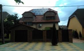 4 kW napelemes rendszer Nyíregyháza
