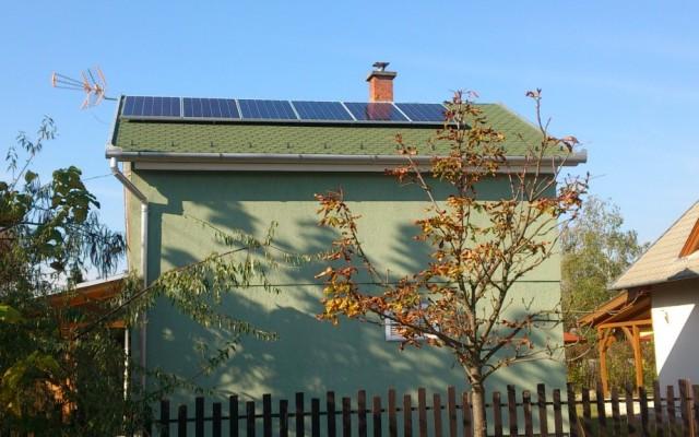 1,5 kW napelemes rendszer Tiszakécske