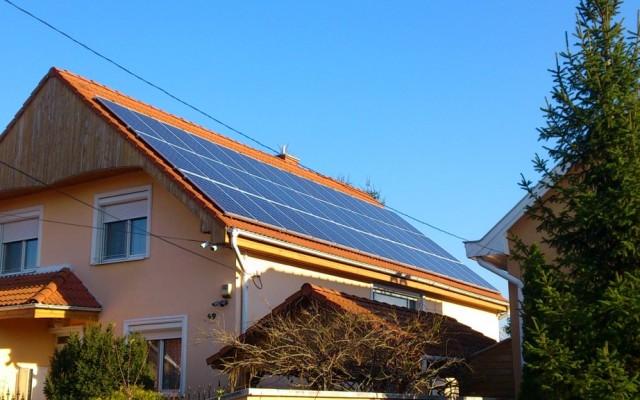 10,3 kW Hálózatra tápláló napelemes rendszer Nyíregyháza