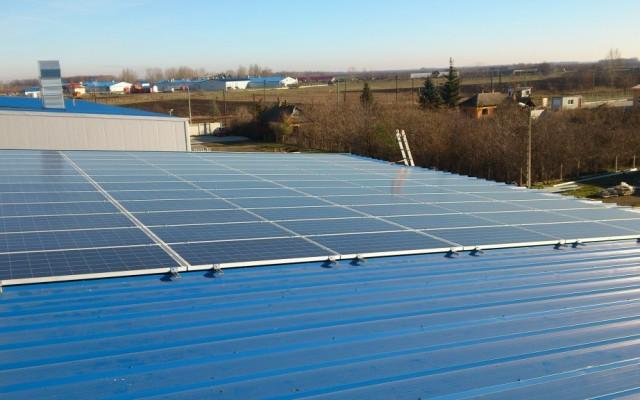 18,0 kW Hálózatra tápláló napelemes rendszer Tiszavasvári