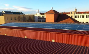 18,0 kW Hálózatra tápláló napelemes rendszer Budapest