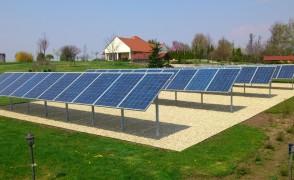 12 kW hálózatra tápláló napelemes rendszer