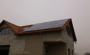 5 kW napelemes rendszer Kisvarsány