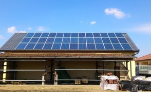 10,0 kW hálózatra tápláló napelemes rendszer