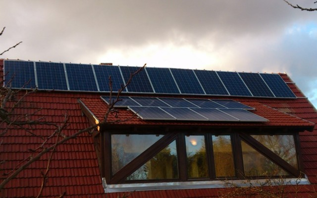 6 kW napelemes rendszer Üröm