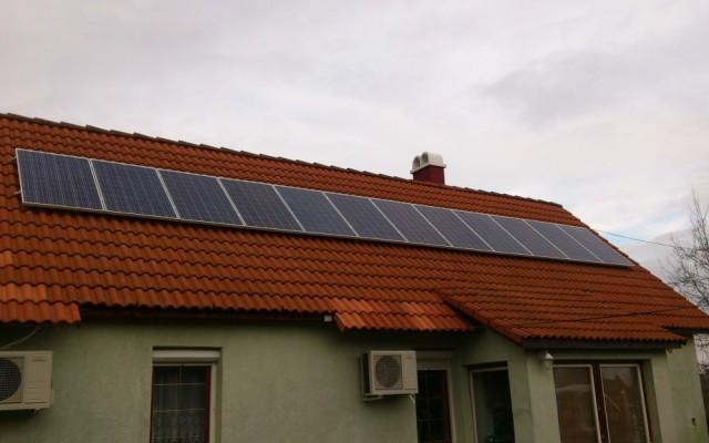 3 kW napelemes rendszer Pilis