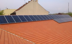 8,5 kW napelemes rendszer Tiszakécske