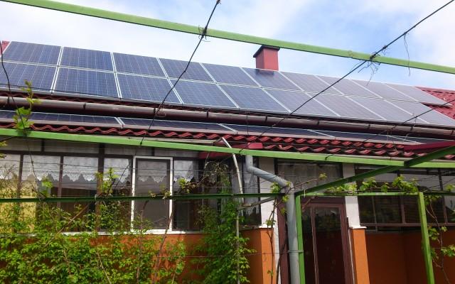 6 kW napelemes rendszer Nyírtét