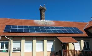 7 kW napelemes rendszer Boldva Óvoda