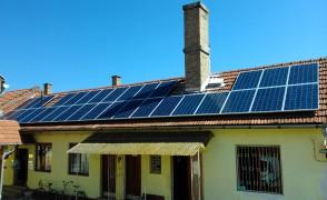 8 kW napelemes rendszer Boldva Községháza