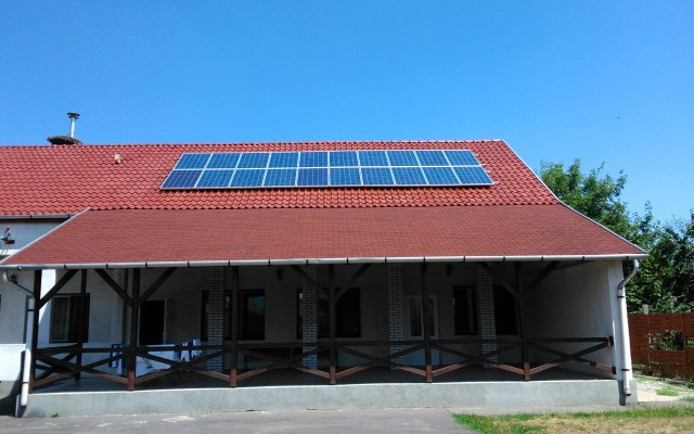 5 kW napelemes rendszer Boldva Szociális étkeztető