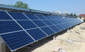 18 kW napelemes rendszer Pécs Vérellátó Központ