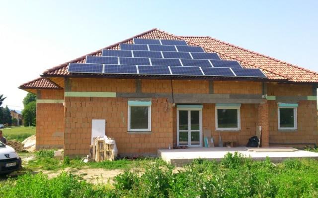 5 kW napelemes rendszer Kozármisleny