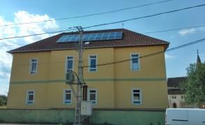 5 kW napelemes rendszer Boldva Művelődési ház