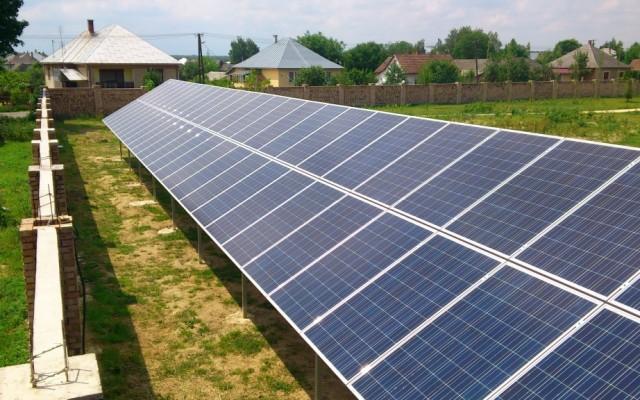 50 kW napelemes rendszer Forgách Kastély Mándok
