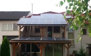 11 kW napelemes rendszer Nyíregyháza