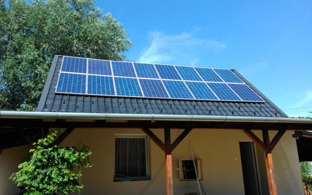 4 kW napelemes rendszer Levelek