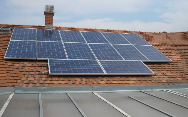 3 kW családi ház Nyíregyháza hódfarkú cseréptetőn