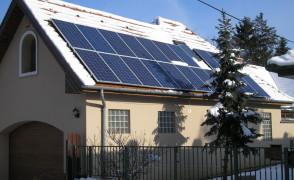 4,8 kW hálózatra tápláló napelemes rendszer