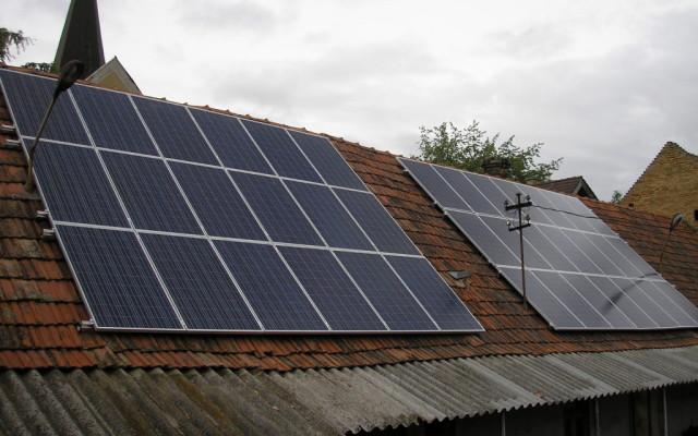 9,36 kW teljesítményű napelemes rendszer Rém