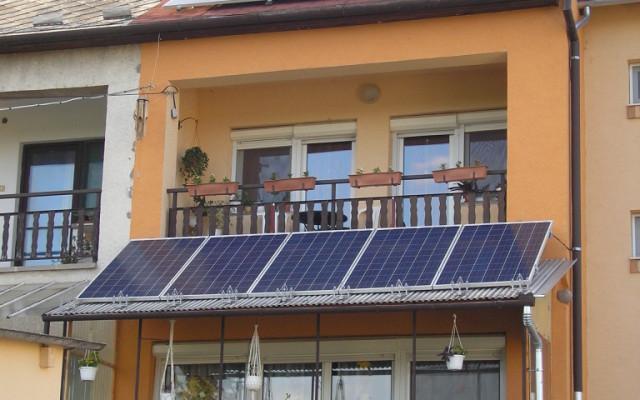 3,84 kW teljesítményű napelemes rendszer Siklós