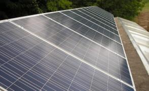 4,0 kW teljesítményű napelemes rendszer Aranyosvölgy