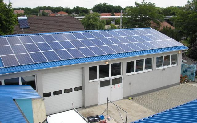 32,0 kW teljesítményű napelemes rendszer Debrecen