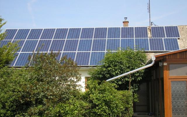 8,64 kW teljesítményű napelemes rendszer Újtelek