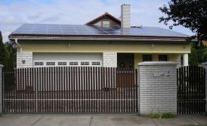 11,3 kW teljesítményű napelemes rendszer Debrecen
