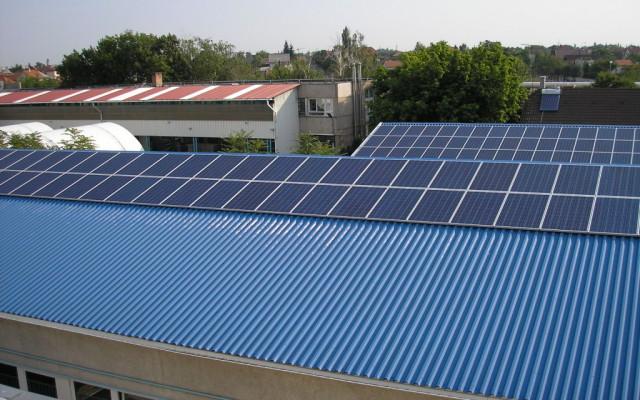 32,0 kW Hálózatra tápláló napelemes rendszer Debrecen